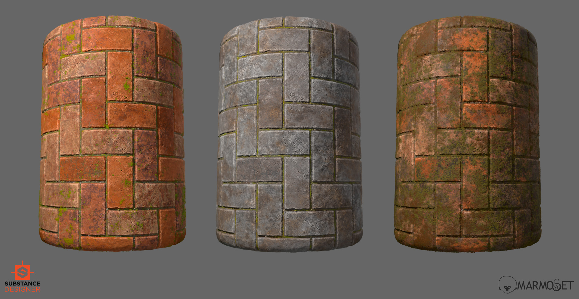Substance designer herringbone tiles