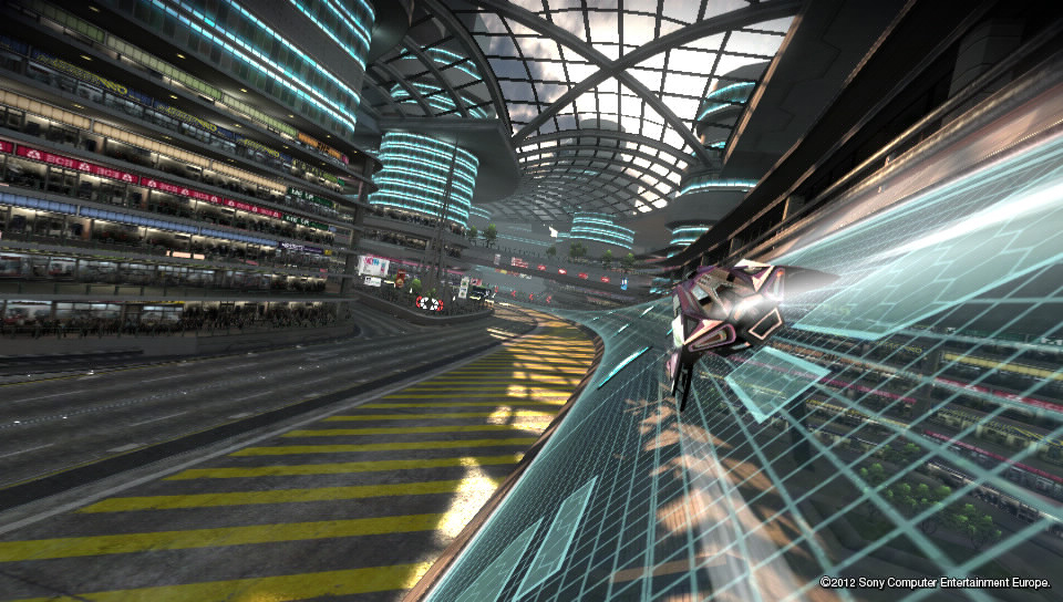 wipeout 2048 mall screenshot 03